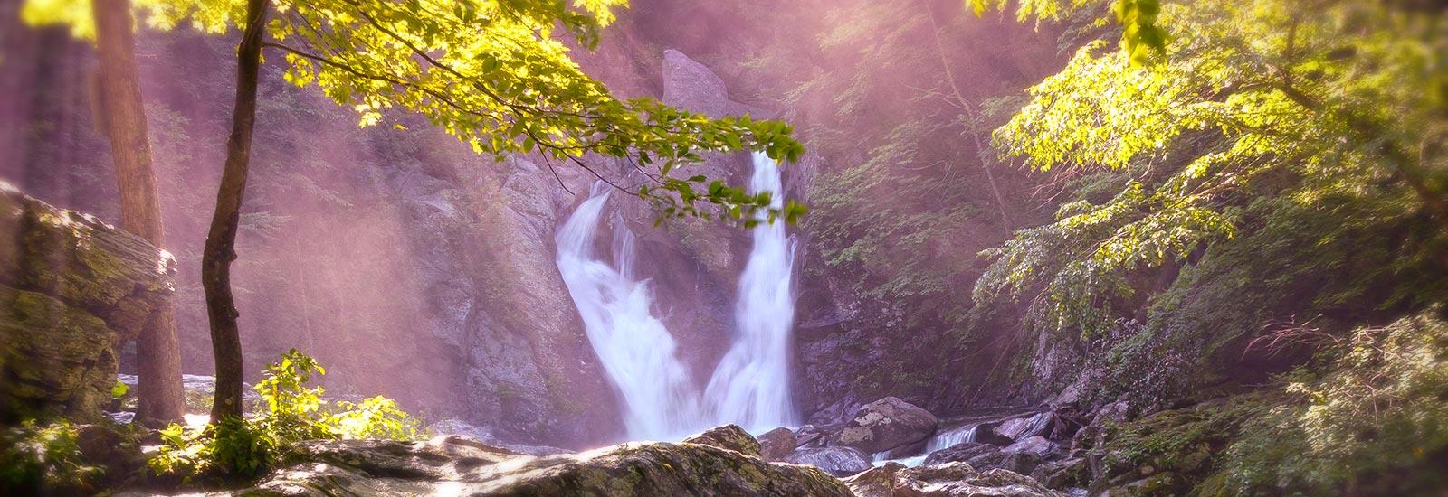 Massachusetts State Park falls