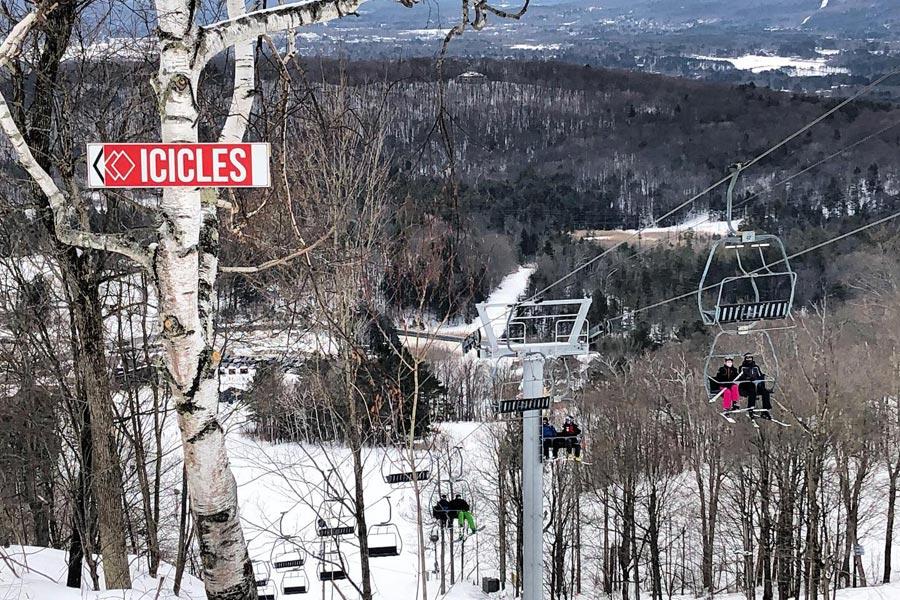 Skiing the Berkshires Bousquet Mountain Ski Resort