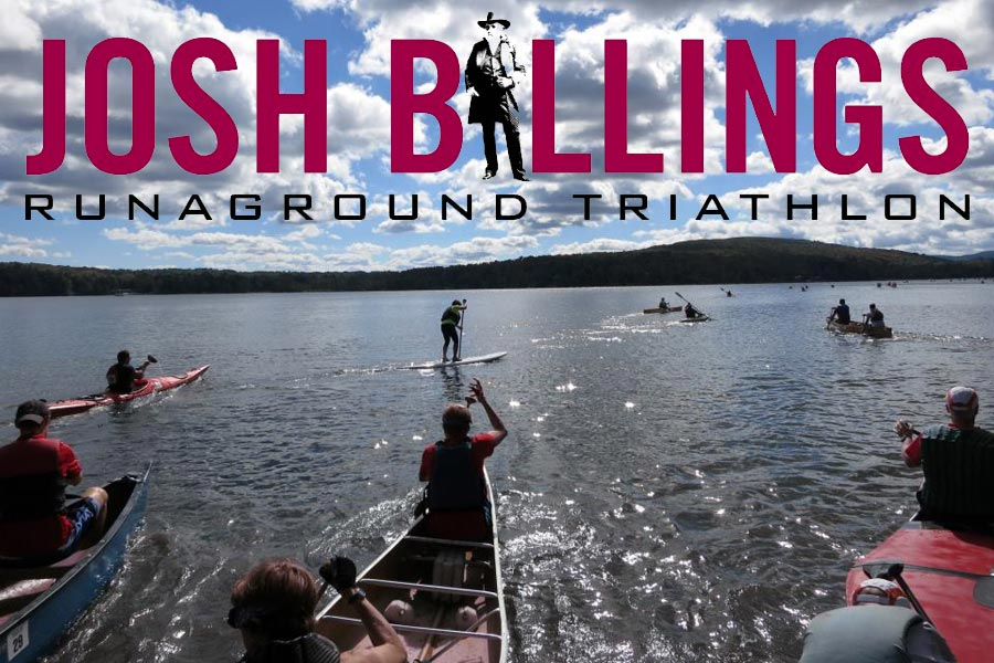 Josh Billings RunAground Triathlon 2021