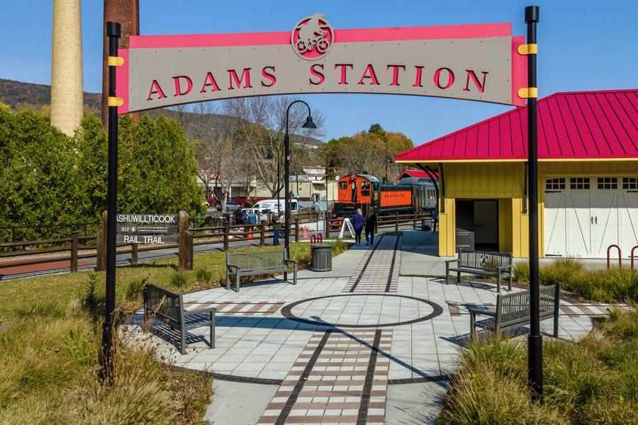Berkshire Scenic Railway Adams Station