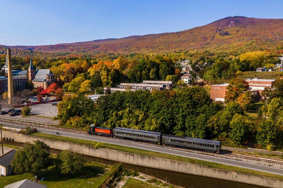 Berkshire Scenic Railway Fall Foliage Train Rides